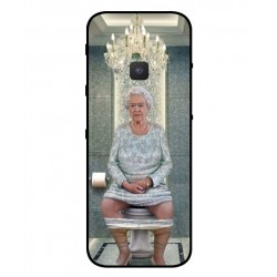 Durable Queen Elizabeth On The Toilet Cover For Nokia 5310 2020