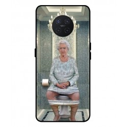Durable Queen Elizabeth On The Toilet Cover For Oppo Ace 2