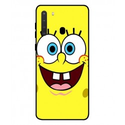 Durable SpongeBob Cover For Samsung Galaxy A21