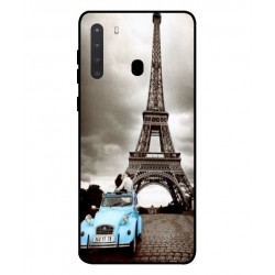 Durable Paris Eiffel Tower Cover For Samsung Galaxy A21