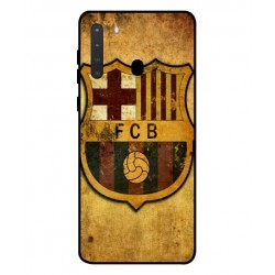 Durable FC Barcelona Cover For Samsung Galaxy A21