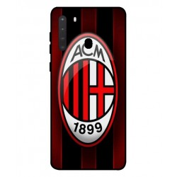 Durable AC Milan Cover For Samsung Galaxy A21