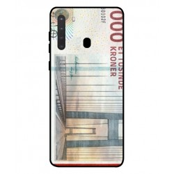 1000 Danish Kroner Note Cover For Samsung Galaxy A21