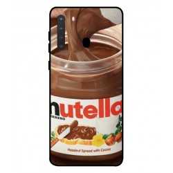Durable Nutella Cover For Samsung Galaxy A21