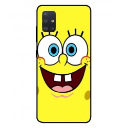 Durable SpongeBob Cover For Samsung Galaxy A51 5G
