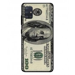 Durable 100 Dollar Note Cover For Samsung Galaxy A51 5G
