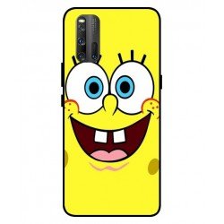 Durable SpongeBob Cover For Vivo iQOO 3 5G