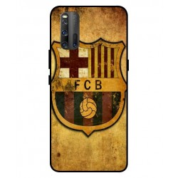 Durable FC Barcelona Cover For Vivo iQOO 3 5G