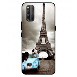 Durable Paris Eiffel Tower Cover For Vivo iQOO 3 5G