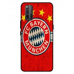 Durable Bayern De Munich Cover For Vivo iQOO 3 5G