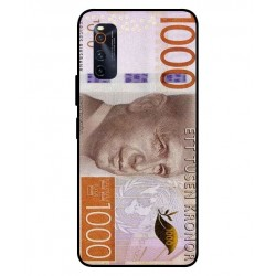 Durable 1000Kr Sweden Note Cover For Vivo iQOO Neo 3