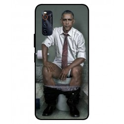 Durable Obama On The Toilet Cover For Vivo iQOO Neo 3