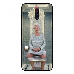 Durable Queen Elizabeth On The Toilet Cover For ZTE Nubia Red Magic 5G