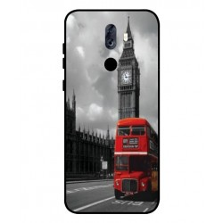 Durable London Cover For ZTE Blade Max View