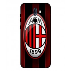 Durable AC Milan Cover For ZTE Blade Max View