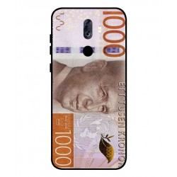Durable 1000Kr Sweden Note Cover For ZTE Blade Max View