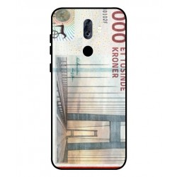 1000 Danish Kroner Note Cover For ZTE Blade Max View