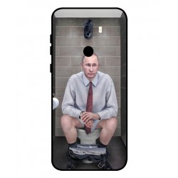 Durable Vladimir Putin On The Toilet Cover For ZTE Blade Max View