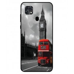 Durable London Cover For ZTE Blade 20