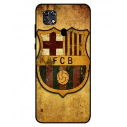 Durable FC Barcelona Cover For ZTE Blade 20