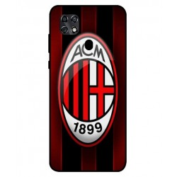 Durable AC Milan Cover For ZTE Blade 20