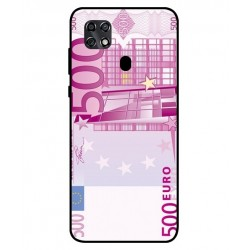 Durable 500 Euro Note Cover For ZTE Blade 20