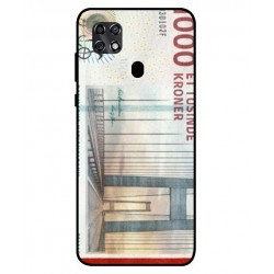 1000 Danish Kroner Note Cover For ZTE Blade 20