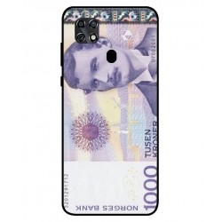 1000 Norwegian Kroner Note Cover For ZTE Blade 20