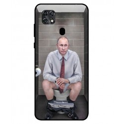 Durable Vladimir Putin On The Toilet Cover For ZTE Blade 20