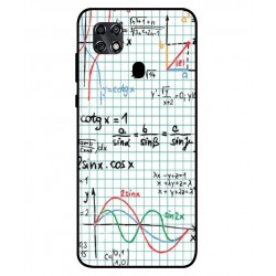 Durable Mathematics Cover For ZTE Blade 20