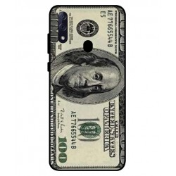 Durable 100 Dollar Note Cover For ZTE Blade 10 Prime