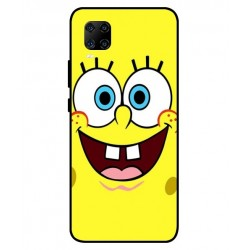 Durable SpongeBob Cover For ZTE Axon 11 5G