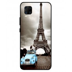 Durable Paris Eiffel Tower Cover For ZTE Axon 11 5G