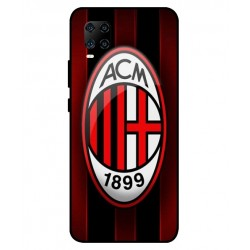 Durable AC Milan Cover For ZTE Axon 11 5G