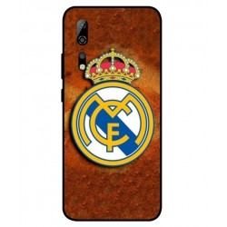 Durable Real Madrid Cover For ZTE Axon 10s Pro 5G