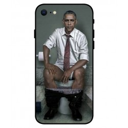 Obama På Toilettet Cover Til iPhone SE 2020