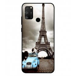 Paris Eiffeltårnet Cover Til Huawei Honor 9A
