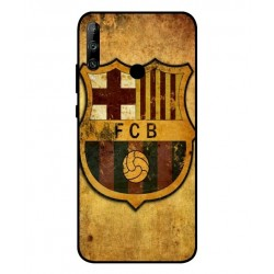Durable FC Barcelona Cover For Huawei Honor 9C