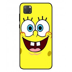 Durable SpongeBob Cover For Huawei Honor 9S