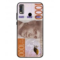 Durable 1000Kr Sweden Note Cover For Huawei Honor 9X Lite