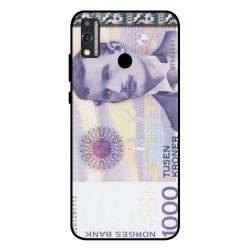 1000 Norwegian Kroner Note Cover For Huawei Honor 9X Lite