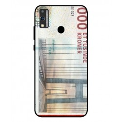 1000 Danish Kroner Note Cover For Huawei Honor 9X Lite