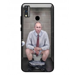 Durable Vladimir Putin On The Toilet Cover For Huawei Honor 9X Lite