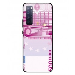 Durable 500 Euro Note Cover For Huawei Nova 7 5G