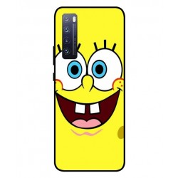 Durable SpongeBob Cover For Huawei Nova 7 Pro 5G
