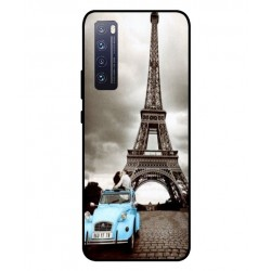 Durable Paris Eiffel Tower Cover For Huawei Nova 7 Pro 5G