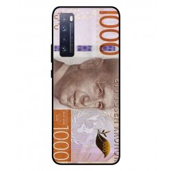 Durable 1000Kr Sweden Note Cover For Huawei Nova 7 Pro 5G