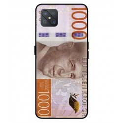 Durable 1000Kr Sweden Note Cover For Oppo A92s