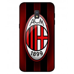 Durable AC Milan Cover For Samsung Galaxy J2 Core 2020