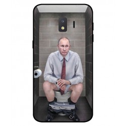 Durable Vladimir Putin On The Toilet Cover For Samsung Galaxy J2 Core 2020